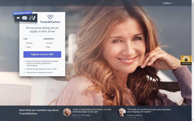 Test winner: TrueLifePartner - Casual Dating