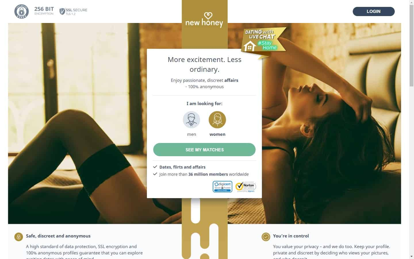Test winner: New Honey - Casual Dating