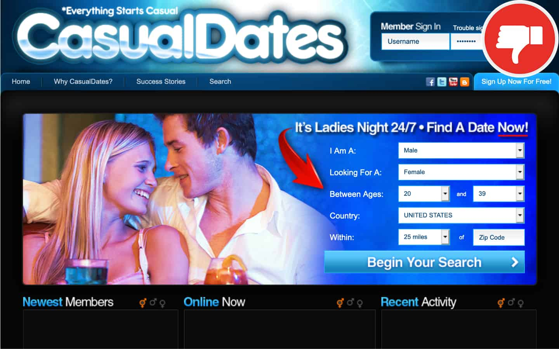 avis sur le site casual dating)