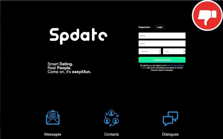 SpDate.com Review | Scam January 2021 - Fake check