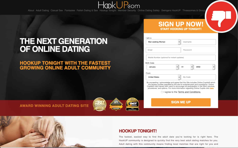 HookUp.com review | Scam November 2020 - Fake check
