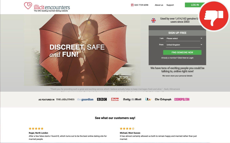 IllicitEncounters.com review | Scam December 2020 - Fake