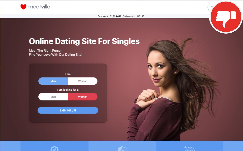 Review MeetVille.com scam