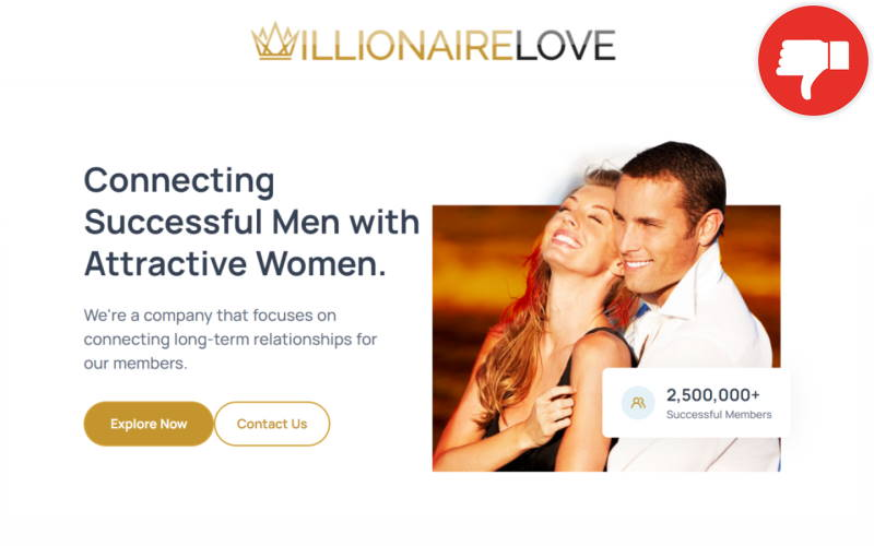 Review MillionairesLove.com Scam