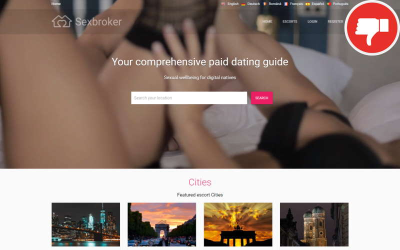 Review SexBroker.io Fake Chat